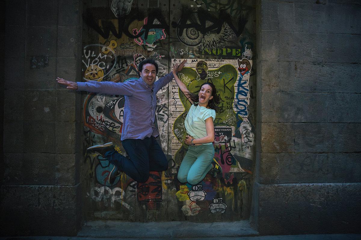 Cris& Santi Wedding photographs in Barcelona