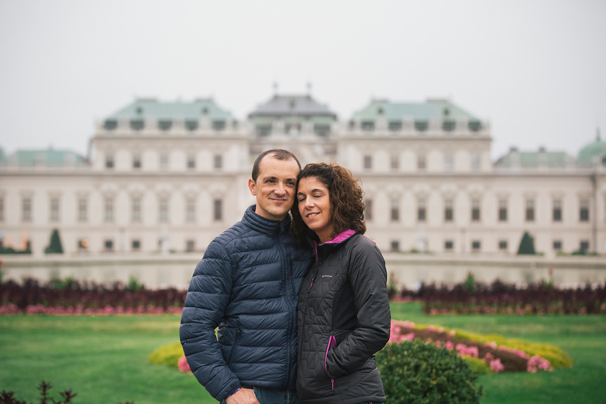Maria & Jose Couple photographs in Vienna